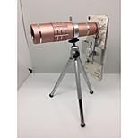 Недорогие -универсальный 18x мобильный телефон телеобъектив Kamera объектив с мини-штатив Telefon lensi объектив камеры для iphone Самсунга HTC