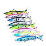 8 pcs Hard Bait Minnow Fishing Lures Hard Bait Minnow Assorted Colors g/Ounce,127 mm/5
