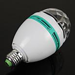 Недорогие -1шт e27 3w красочный автоматический вращающийся RGB LED лампа свет этапа партия лампы дискотека для ламп освещения украшения дома