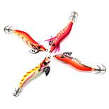 4 pcs Hard Bait Others Fishing Lures Hard Bait Vibration/VIB Craws / Shrimp Assorted Colors g/Ounce,80 mm/3-1/4