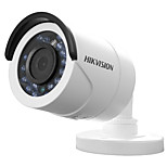HIKVISION® DS-2CE16C0T-IR HD720P IR Bullet Camera (IP66 Waterproof 20m IR Analog HD Output True Day/Night DNR Smart IR 1MP CMOS Image Sensor)