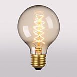 G80 E27 40W Retro Creative Art Personality Decorative Incandescent Lamp
