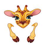 Недорогие -Животные Мода Мультипликация Наклейки Простые наклейки Декоративные наклейки на стены Наклейки для выключателя света, Винил Украшение дома