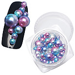 cheap -1PCS Pearls Rhinestones Nail Jewelry Decoration Kits Glitters Fashion High Quality Daily