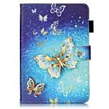 economico -Custodia Per Apple iPad mini 4 iPad Mini 3/2/1 Con supporto Con chiusura magnetica Fantasia/disegno Auto sospendione/riattivazione