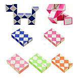 Недорогие -Кубик рубик 3*3*3 Спидкуб Змейка Обучающая игрушка головоломка Куб Гладкий стикер Квадратный Подарок