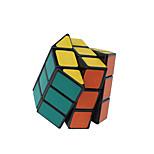 Недорогие -Кубик рубик Восьмиугольная колонна 3*3*3 Спидкуб Кубики-головоломки головоломка Куб Гладкий стикер Цилиндрическая Подарок