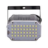 U'king Mini Sound Control 36Pcs White LEDs Room Strobe Spotlight Stage Lighting for Disco Party DJ Light Home Entertainment Music Show Projector