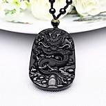 Муж. Ожерелья с подвесками Бижутерия Бижутерия Синтетические драгоценные камни Сплав В виде подвески Природа По заказу покупателя