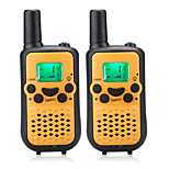 Easy to Talk 446MHZ Walkie Talkie for Kids(5 Colors Choose) Output 0.5W 8 Channels Up to 3KM-5KM AAA Alkaline Battery