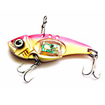 1 pcs Hard Bait Metal Bait Fishing Lures Hard Bait Metal Bait Trolling Lure Assorted Colors g/Ounce,80 mm/3-1/4