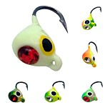 6 pcs Metal Bait Jigs Others Fishing Lures Jigs Jig Head Assorted Colors g/Ounce,15 mm/<1