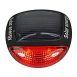 Задняя подсветка на велосипед отражатели безопасности LED Велоспорт Осторожно! Люмен Работает от солнечной энергии красныйВелосипедный