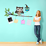Недорогие -Животные Мода Наклейки Простые наклейки Декоративные наклейки на стены, Винил Украшение дома Наклейка на стену Стена