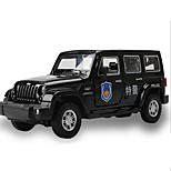 cheap -Toy Cars Toys Construction Vehicle Police car Ambulance Vehicle Toys Square Metal Alloy Plastic Pieces Kids Gift