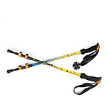 3 Nordic Walking Poles 135cm (53 Inches) Damping Foldable Light Weight Adjustable Fit Aluminum Alloy 7075 Camping & Hiking Snowshoeing