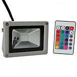 Hkv® 1шт 10w 900-1000 lm rgb водонепроницаемый фестон светодиодный прожектор с интегрированным светодиодом ac85-265 v