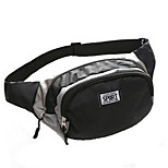 10 L Waist Bag/Waistpack Running Waterproof Wearable Breathable Shockproof Oxford