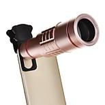 Недорогие -18-кратный универсальный алюминиевый оптический зум с мини-штативом смартфон металлический телескоп линза с длинным фокусом -винка
