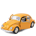 cheap -Toy Cars Classic Car Toys Simulation Car Beatles Metal 1 Pieces Kids Unisex Gift