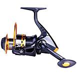 HiUmi Super Hard 14BB Fishing Reel YB5000 5.51 Metal Spinning Reel Carp Fishing Wheel with Spare Spool