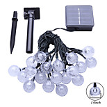 cheap -6M  2W 30Leds  RGB 360LM Solar String Lights Christmay Fine Party Light Waterproof Lamp