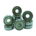 608Z  21mm x 7mm Metal Shielded Radial Ball Bearings Deep Groove Ball Bearings for Fidget Spinner Toy---10 pcs