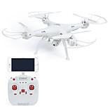 RC Dron ZSRC Z1W 4 Canales 6 Ejes 2.4G Con la cámara de 0,3 MP HD Quadccótero de radiocontrol  Iluminación LED Retorno Con Un Botón A