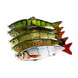 5 Stück Jerkbaits kleiner Fisch g/Unze mm ZollSeefischerei Köderwerfen Spinn Fischen im Süßwasser Barschangeln Spinnfischen Angeln