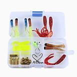 Недорогие -штук Набор для рыбалки г / Унция мм дюймовый, Углеродистая сталь Морское рыболовство Ловля на приманку Ловля со льда Спиннинг