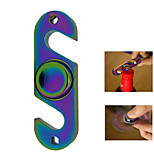 Rainbow Hand Spinner Toy with Bottle Opener Gyro Stress Relief Tip Toy Frugal