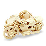 cheap -3D Puzzles Jigsaw Puzzle Wood Model Dinosaur Plane / Aircraft Motorcycle 3D DIY Wooden Wood Classic Motorcycle Unisex Gift