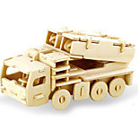cheap -3D Puzzles Jigsaw Puzzle Wood Model Dinosaur Tank Plane / Aircraft Chariot 3D DIY Wooden Wood Classic Unisex Gift