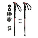 KORAMAN 2 Pack Ultralight Compact Anti shock Collapsible Walking Hiking Trekking Poles