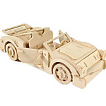 cheap -Toy Cars 3D Puzzles Jigsaw Puzzle Wood Model Plane / Aircraft Car 3D DIY Wood Classic Boys' Unisex Gift