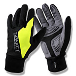 Sports Gloves Men's Cycling Gloves Spring Summer Bike Gloves Wearable Breathable Durable Skidproof Fingerless GlovesPU Leather Lycra