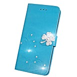 cheap -Case For Huawei Honor V9 Honor 7X Rhinestone Flip Embossed Full Body Cases Mandala Butterfly Hard PU Leather for Honor 9 Honor 8 Huawei