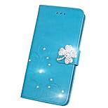Недорогие -Кейс для Назначение Huawei Honor V9 Honor 7X Стразы Флип Рельефный Чехол Мандала Бабочка Твердый Кожа PU для Honor 9 Honor 8 Huawei Honor