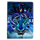 cheap -Case For Apple iPad 10.5 iPad mini 4 Card Holder Wallet with Stand Full Body Animal Hard PU Leather for iPad Pro 10.5 (2017) iPad 9.7