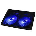 NAJU X2 Laptop Cooling Pad 14 Laptop USB 2 Fans Radiator