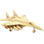 cheap -Toy Cars 3D Puzzles Jigsaw Puzzle Wood Model Plane / Aircraft Fighter 3D DIY Wood Classic Boys' Unisex Gift