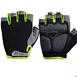 Sports Gloves Unisex Cycling Gloves Spring Summer Bike Gloves Wearable Breathable Protective Sweat-Wicking Durable Fingerless Gloves Cloth