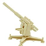 Недорогие -3D пазлы Пазлы Деревянные игрушки Динозавр Танк Летательный аппарат 3D Своими руками деревянный Дерево Классика Универсальные Подарок
