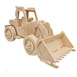 Недорогие -3D пазлы Пазлы Деревянные игрушки Автомобиль 3D моделирование Своими руками Дерево Классика Строительная техника Детские Взрослые