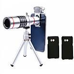 Недорогие -Lingwei 18x zoom samsung камера телеобъектив широкоугольный объектив / штатив / держатель телефона / жесткий чехол / сумка / ткань для