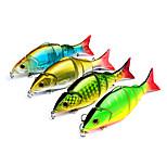 4 штук Жесткая наживка г/Унция мм дюймовый,Пластик Морское рыболовство Другое