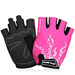 Sports Gloves Unisex Cycling Gloves Spring Summer Bike Gloves Wearable Breathable Sweat-Wicking Durable Protective Fingerless Gloves Lycra