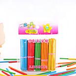 Недорогие -Конструкторы Игрушки для обучения математике Обучающая игрушка Игрушки Экологичные деревянный Детские Куски