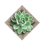 Недорогие -Цветочные мотивы/ботанический Наклейки Простые наклейки Декоративные наклейки на стены,Бумага материал Украшение дома Наклейка на стену