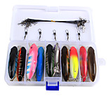 Anmuka 80mm 15.5g 25Pcs/Box Minnow Grank Bait Fishing Hard Lures Fishing Equipment Bait Casting Lure